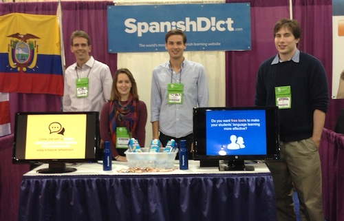 SpanishDict ACTFL Booth